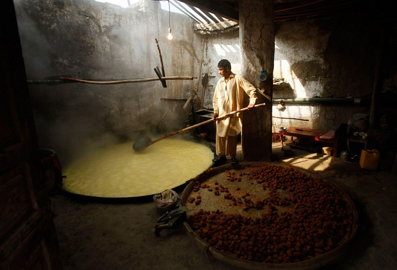 изготовление коричневого сахара