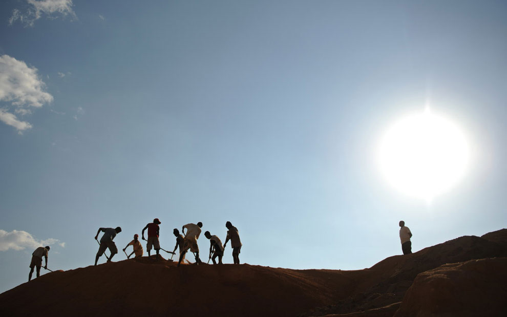 шахтеры Мадагаскара, фото