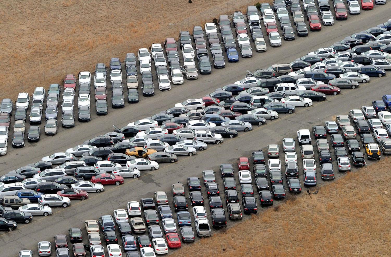 машины затопленные Сенди, фото США