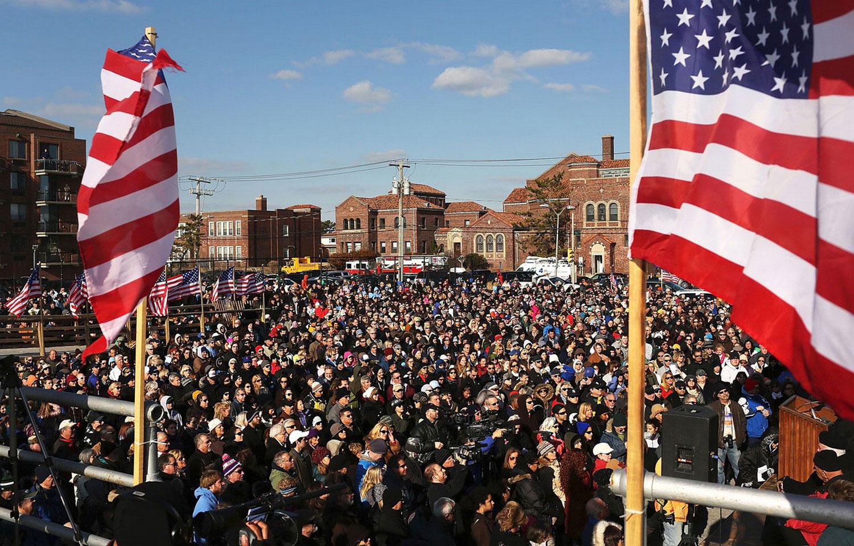 прощальная церемония с набережной США, фото