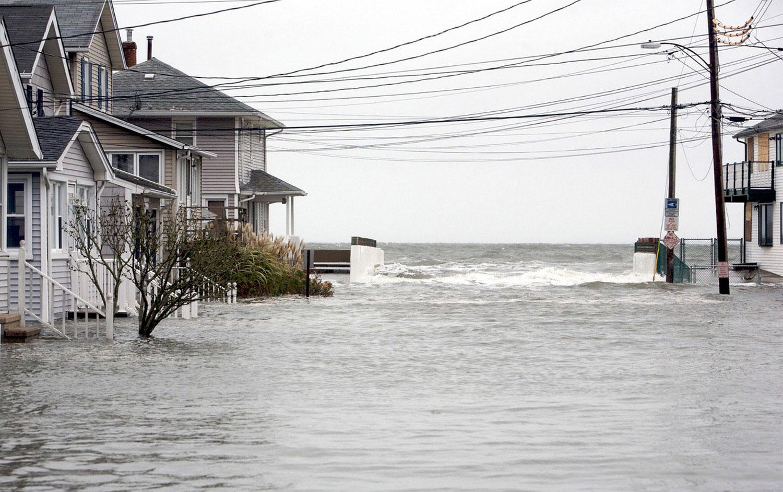 Затопленные улицы Милфорда