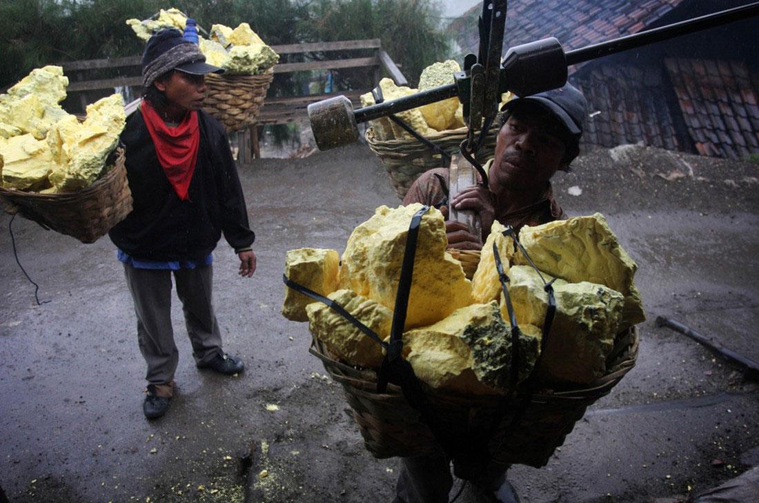 индонезийская станция взвешивания серыы, фото