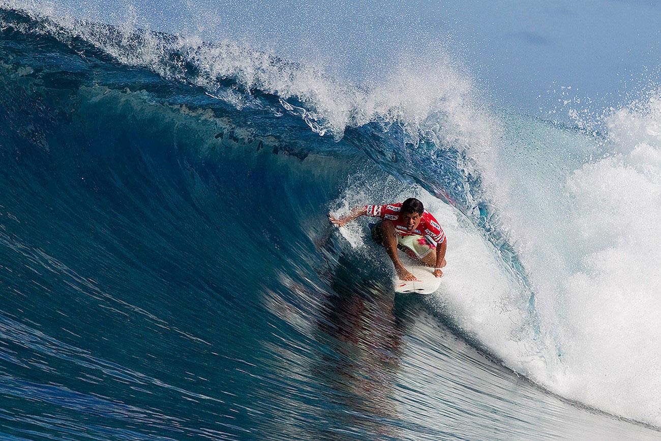 серфинг Таити, фото