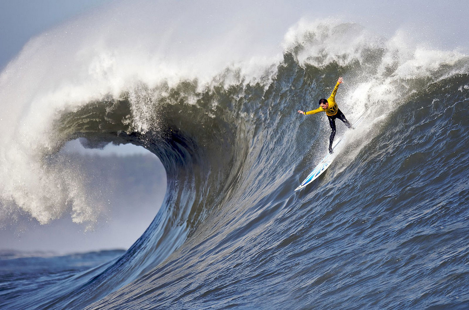 серфинг в Мавериксе, фото