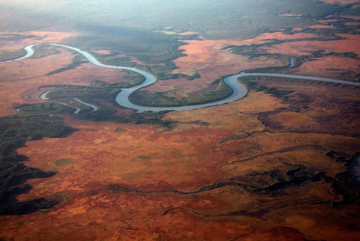 Река через Арнем-Ленд
