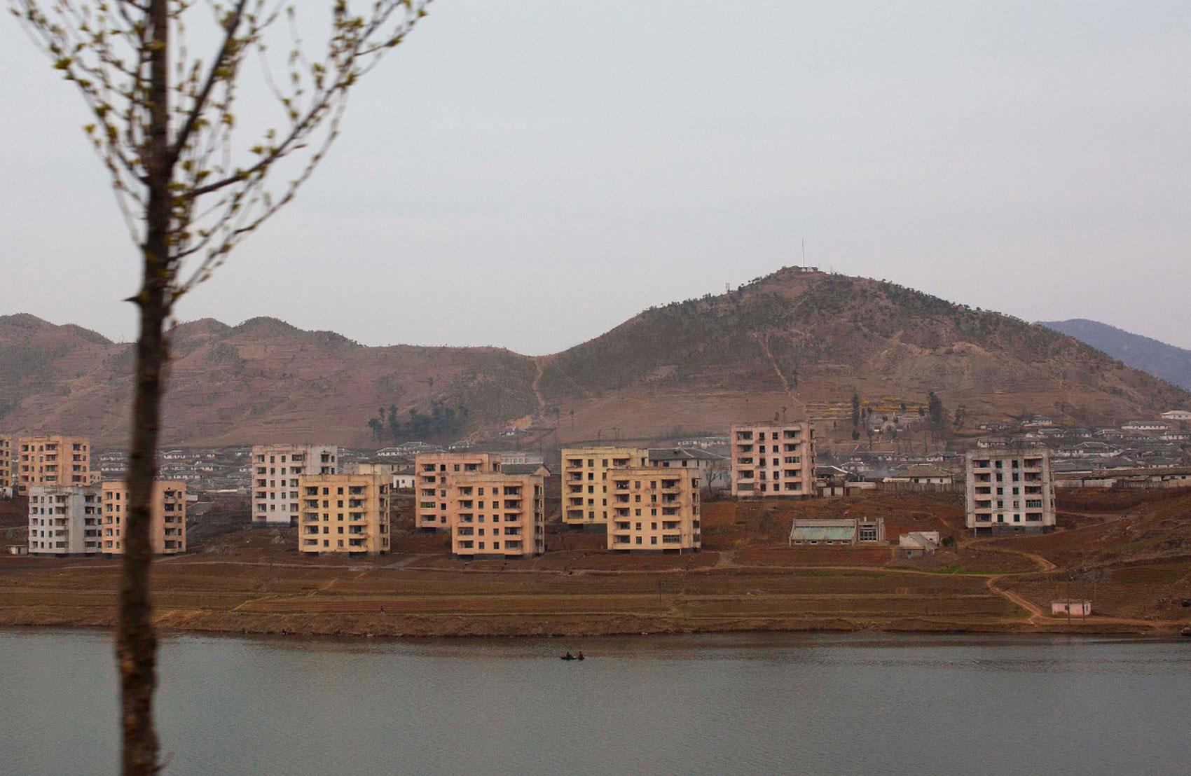 Северокорейский город