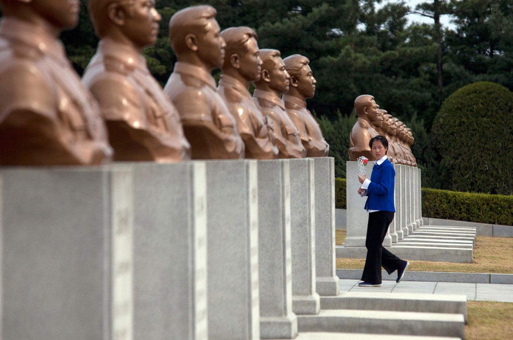 мемориальное кладбище Северной Кореи