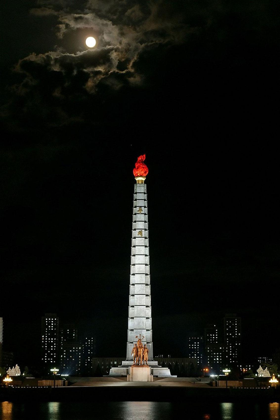 статуя Северной Кореи