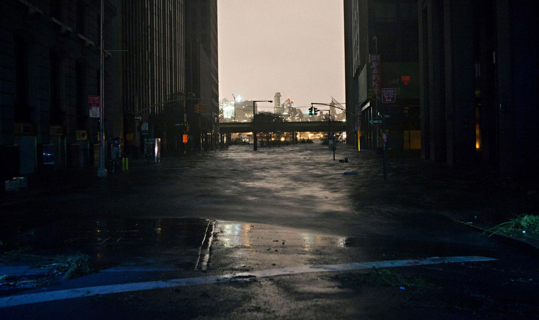 затопленные улицы Манхэттена, фото