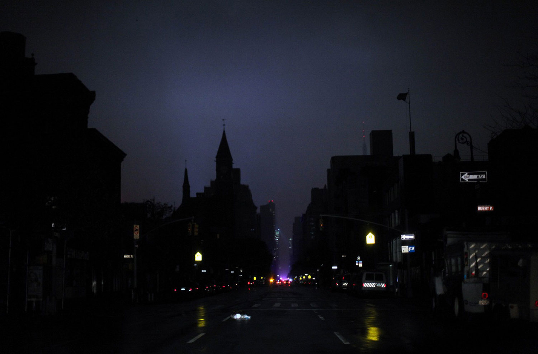 Sandy бушует в США, фото