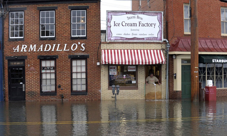 затопленные магазины Америки, фото