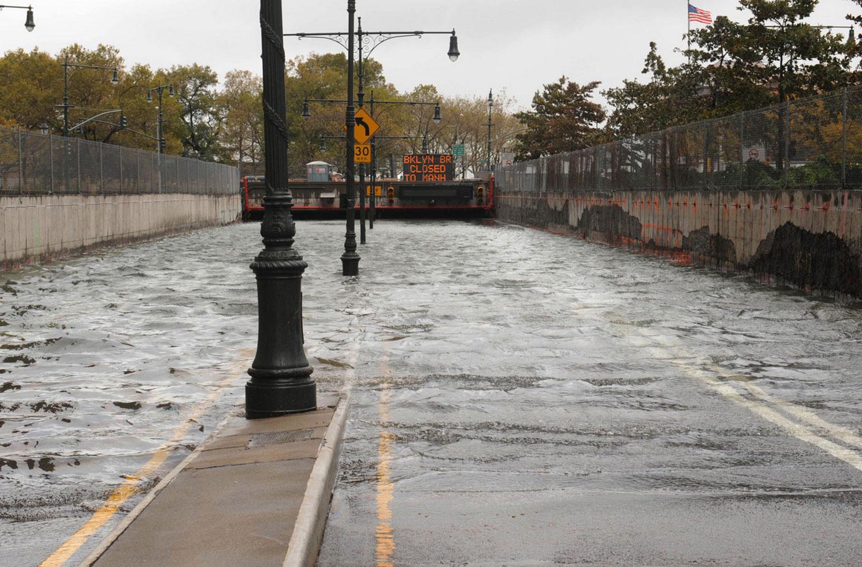 Наводнение в США после Sandy