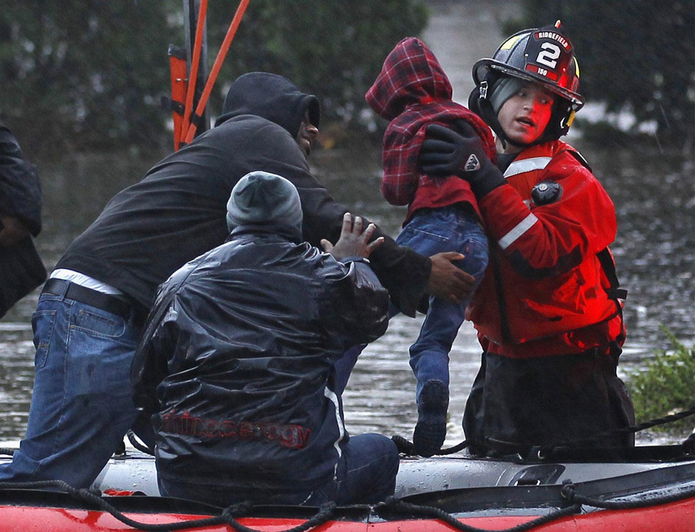 Спасатели в Нью-Йорке, фото