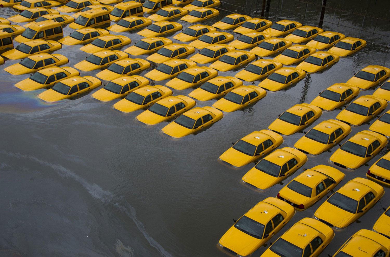 страшный шторм Sandy в Нью-Джерси, фото
