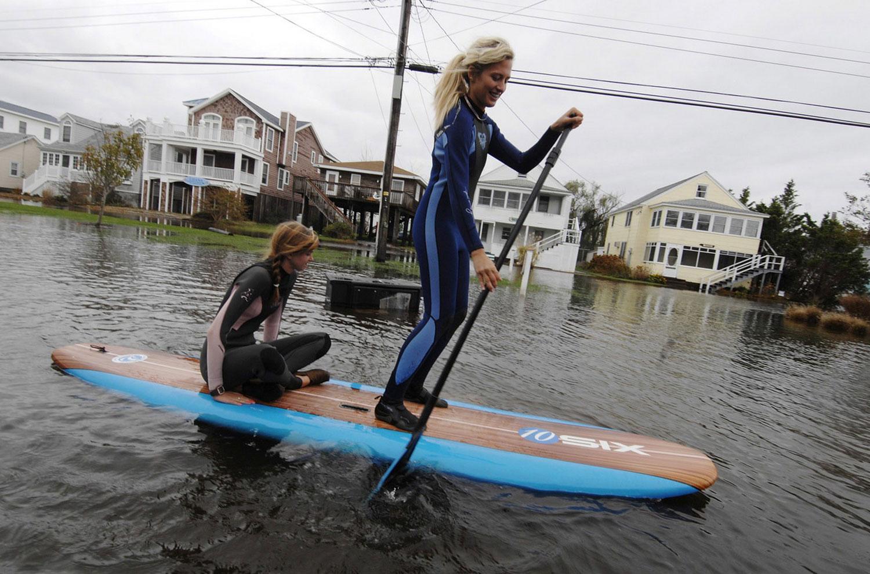 затопленные улицы США, фото