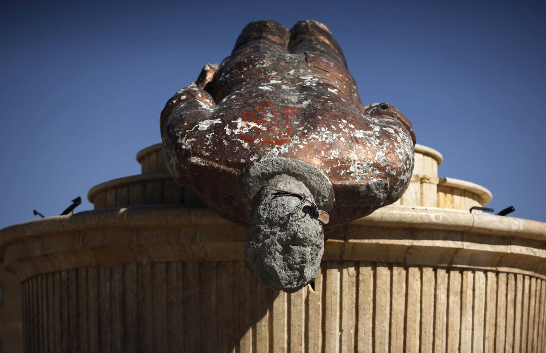 статуя Басиля Асада