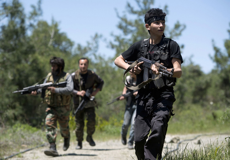 Повстанцы из бригады Аль-Эзз бен Абдель Салям