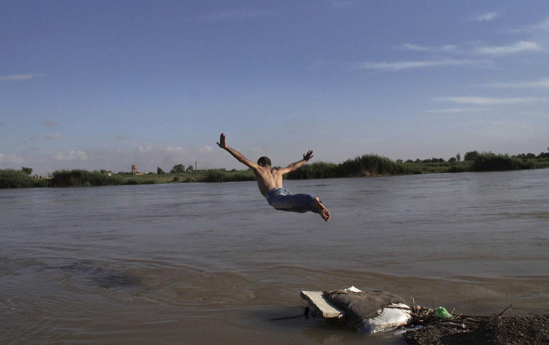 Купание в реке Евфрат