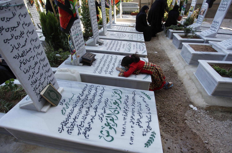 шиитское кладбище в Дамаске