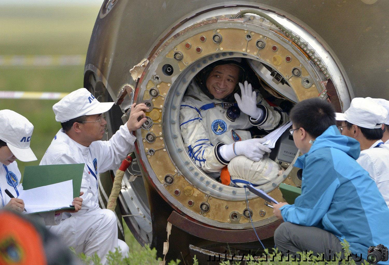 астронавты после приземления