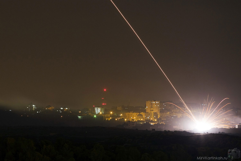 Израильская ракета