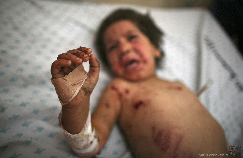 Палестинская девочка