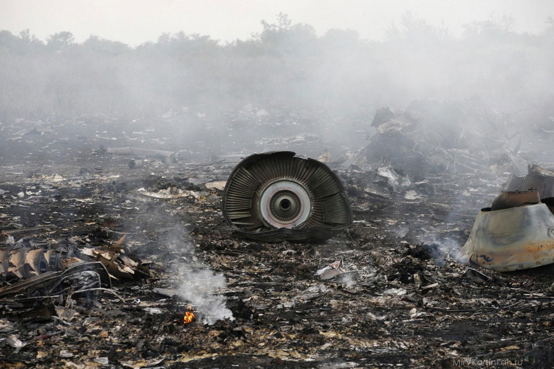 Крушение малайзийского боинга-777