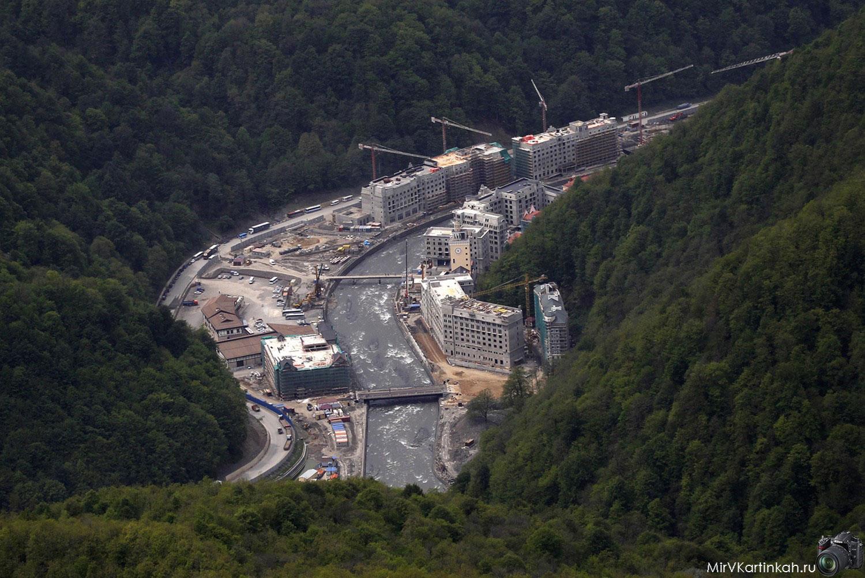 Строительство горнолыжного курорта