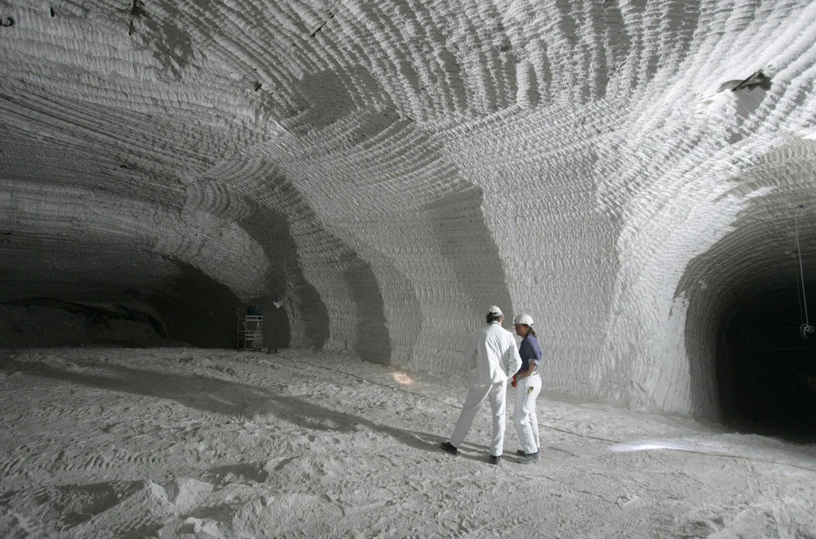 бывшая соляная шахта Ассе