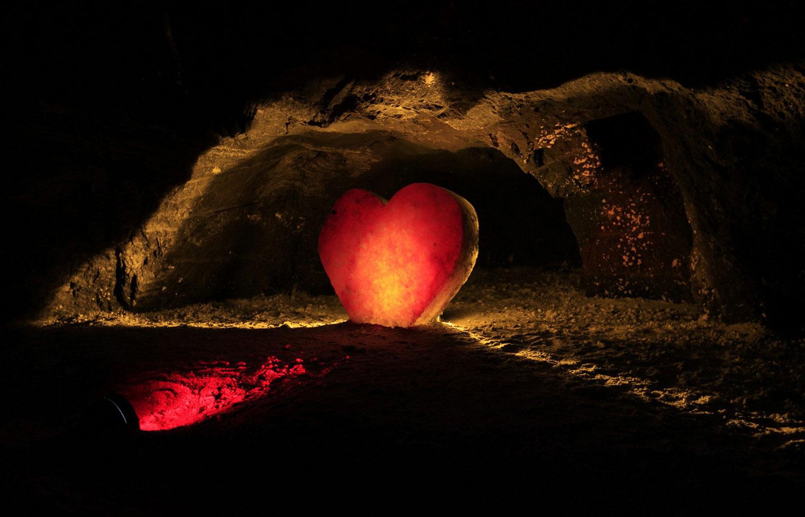 соль в форме сердца