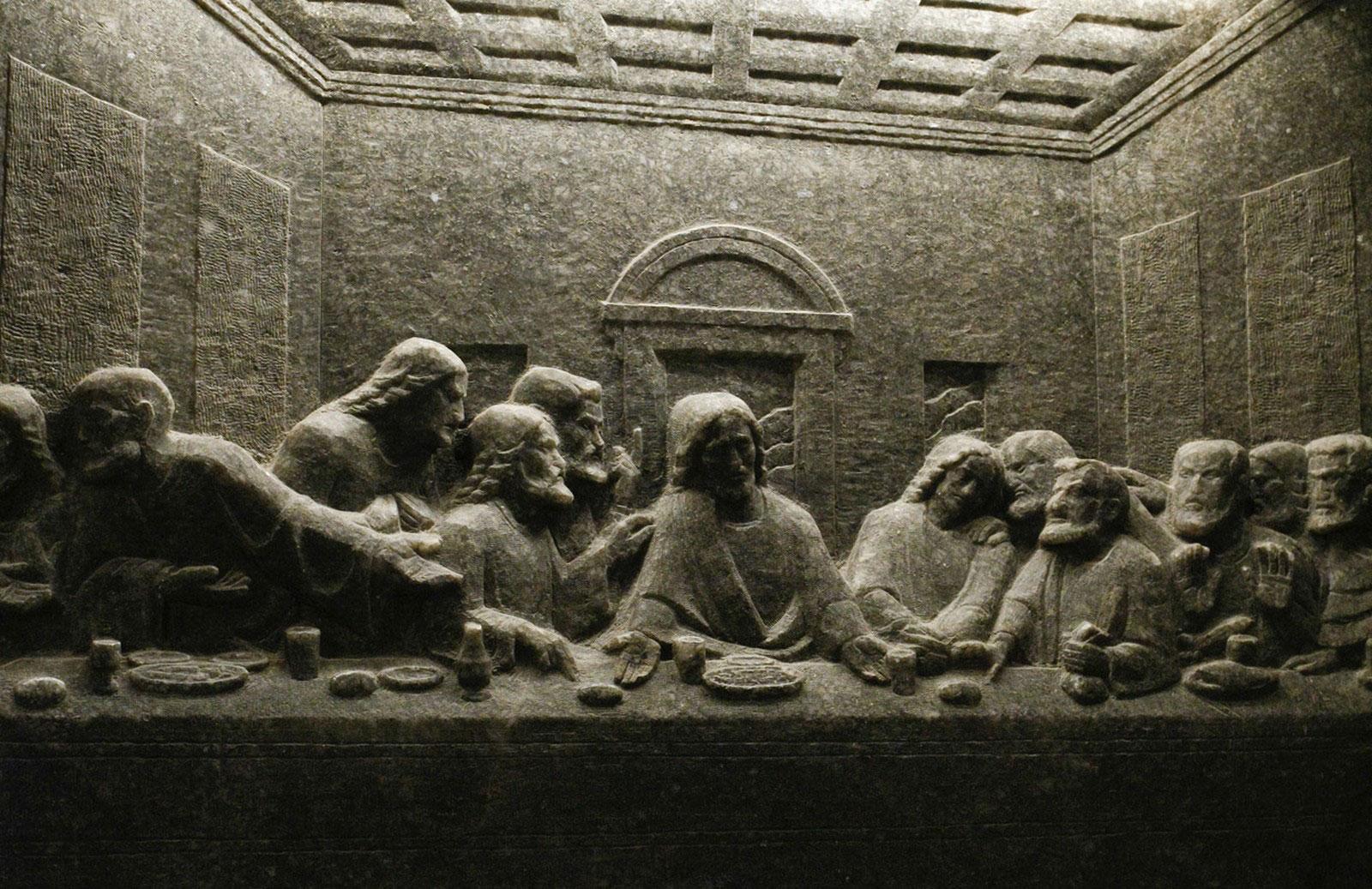 скульптура из соли
