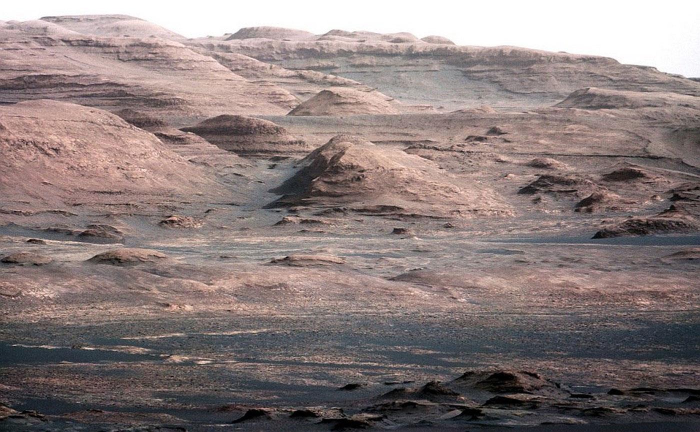 марсианская гора Шарп