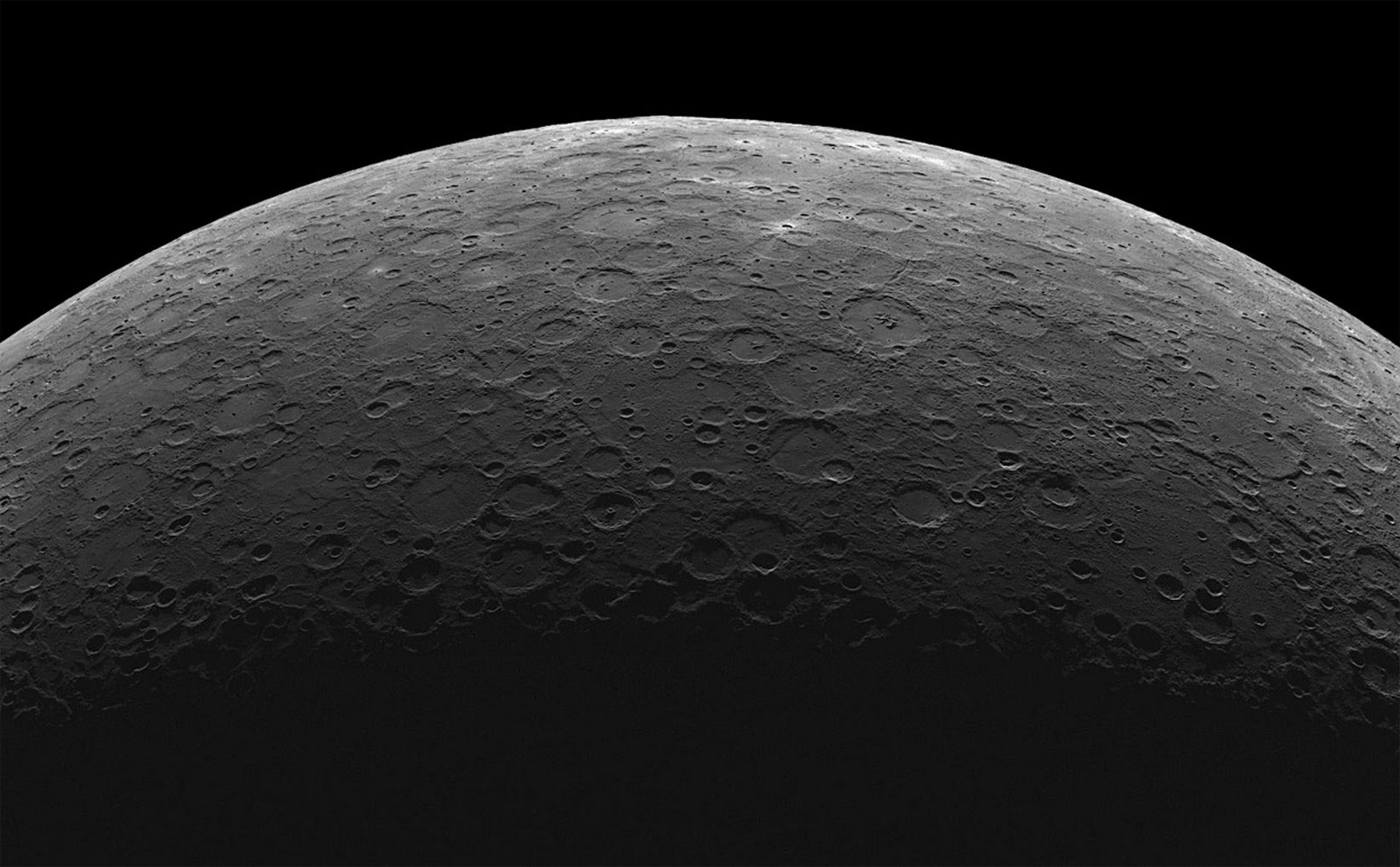 Поверхность Меркурия