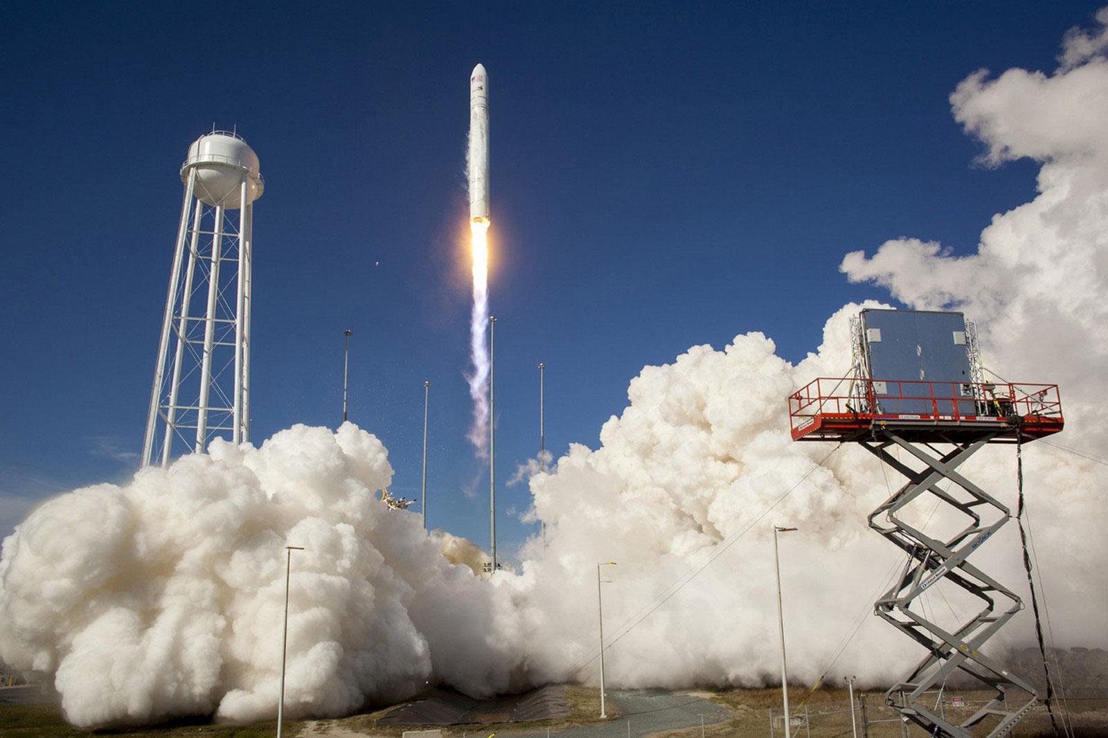 тестовый запуск ракеты