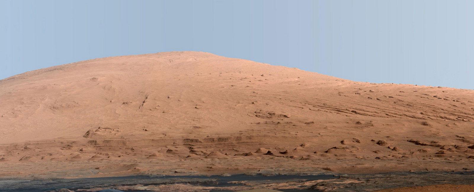 Горы на Марсе