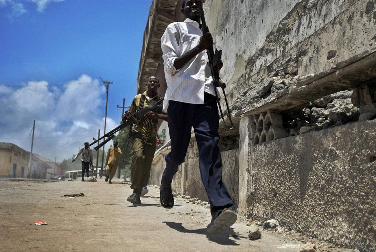 Боевые действия в Могадишо, фото
