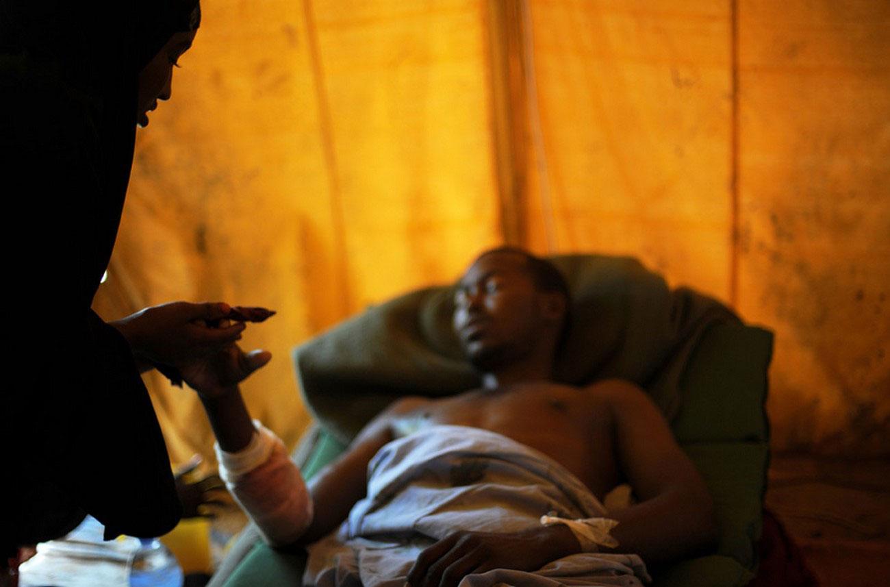 солдат правительственной армии Сомали