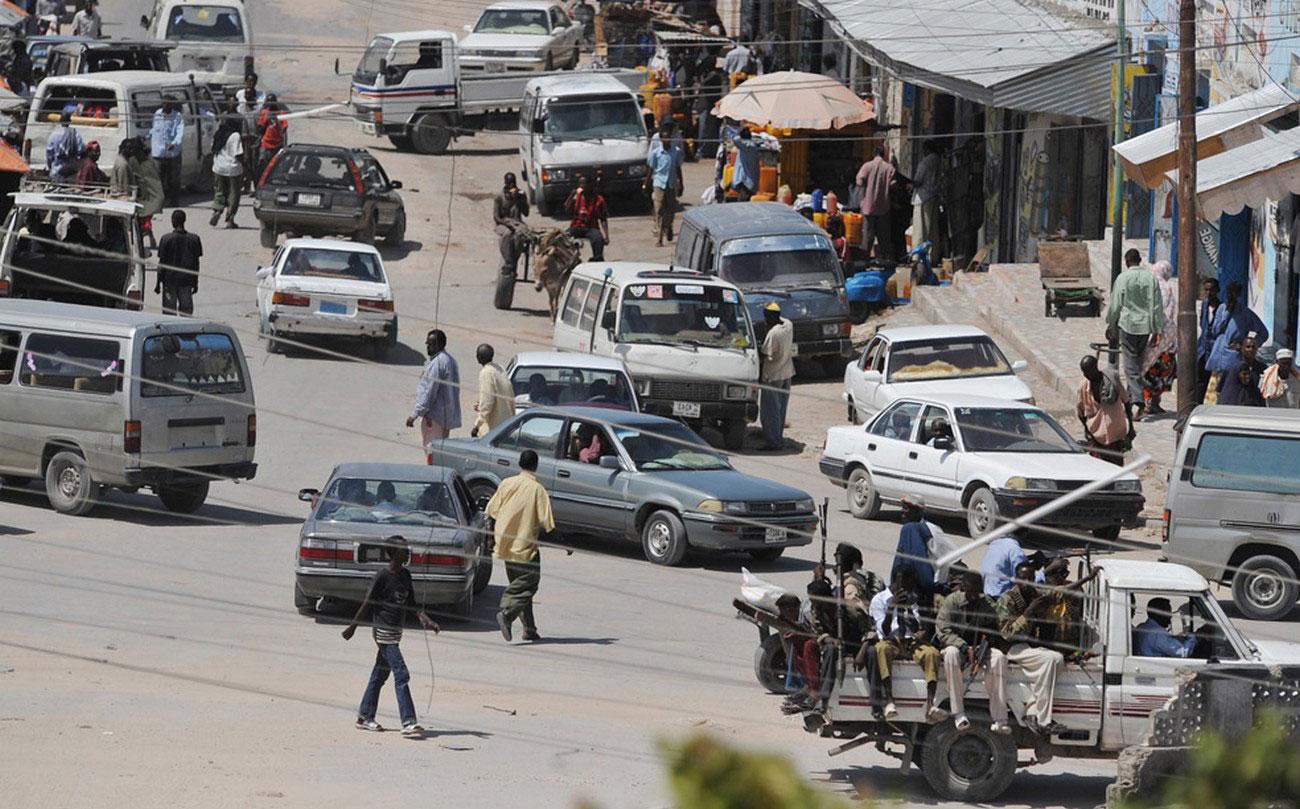 Вооруженные люди, Сомали
