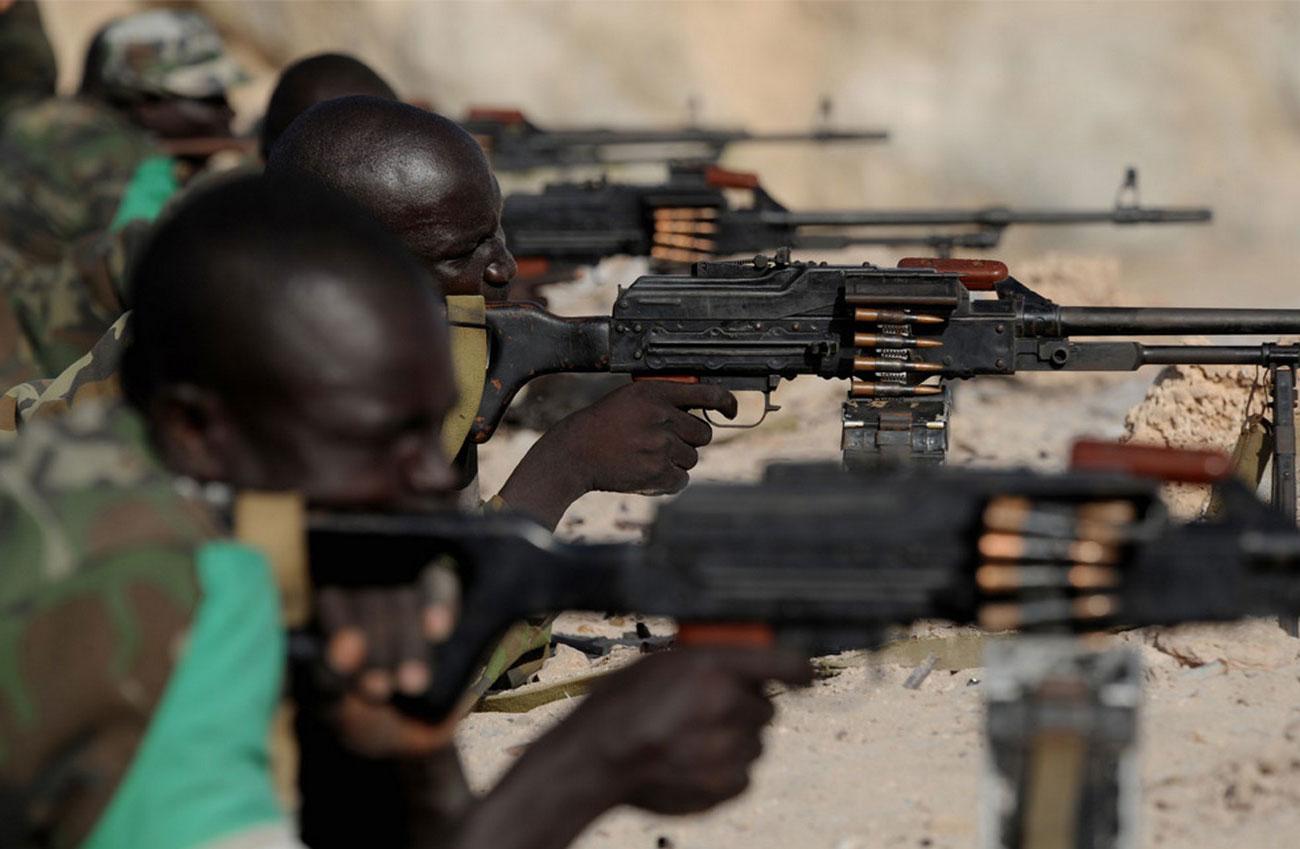 Угандийские солдаты, фото
