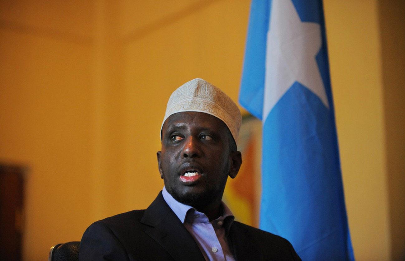 Президент Сомали Шариф Шейх Ахмед, фото