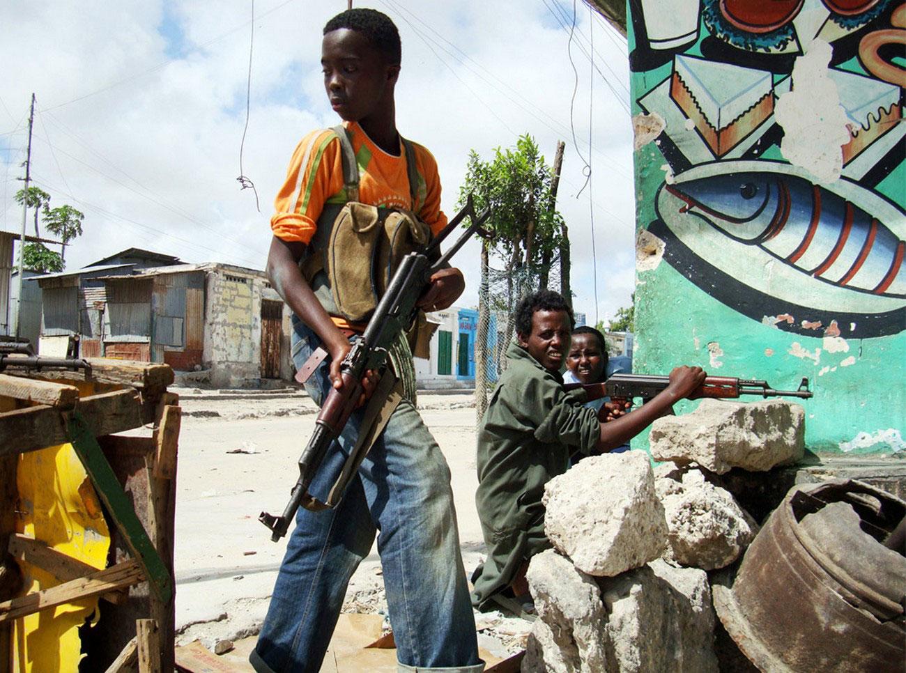 дети из группировки исламистских боевиков, фото