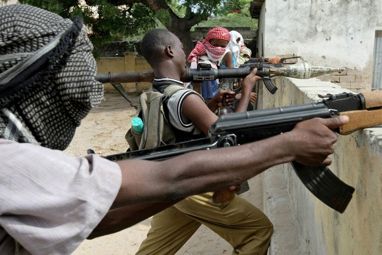 Исламистские боевики из группировки