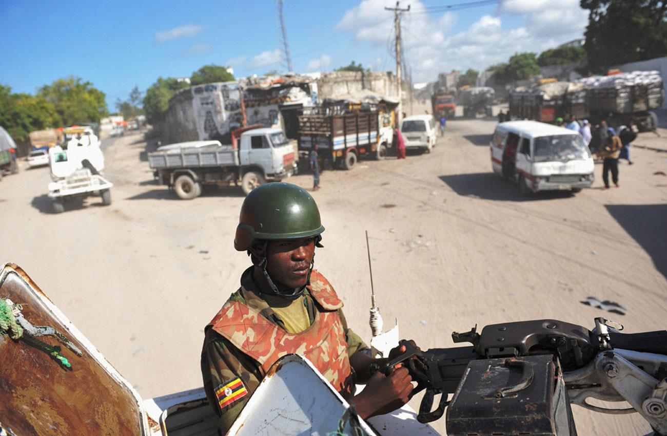 Солдат армии Уганды, Могадишо