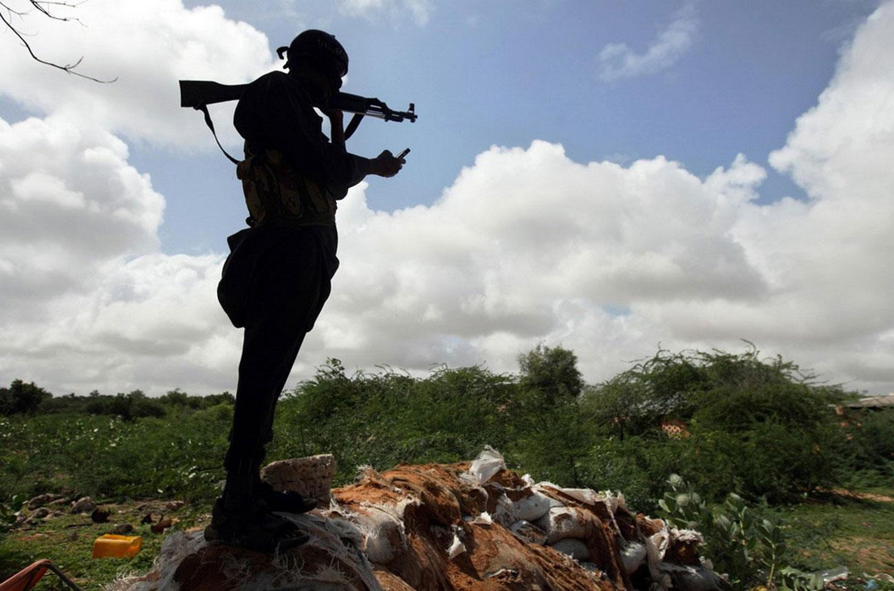Сомалийский повстанец, фото