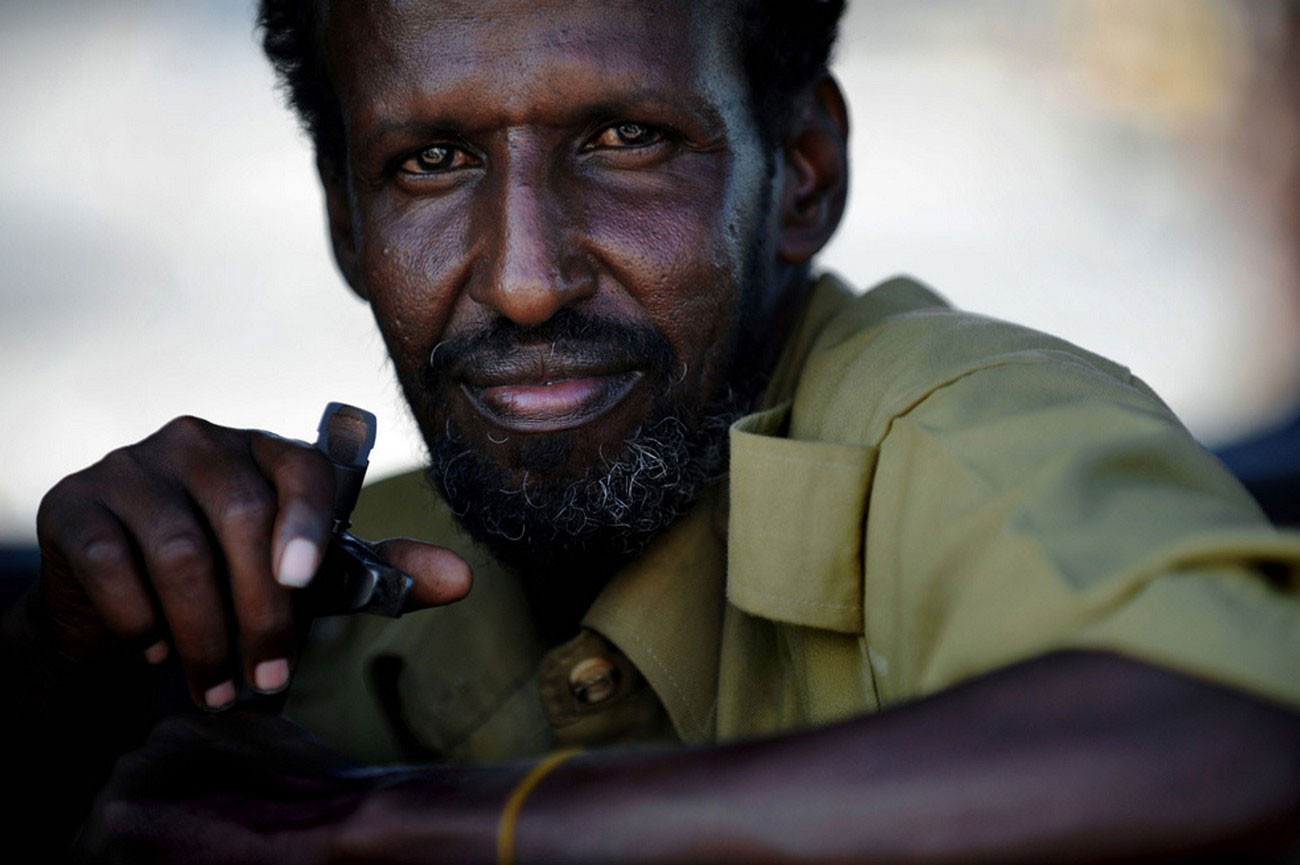 полицейские в Сомали