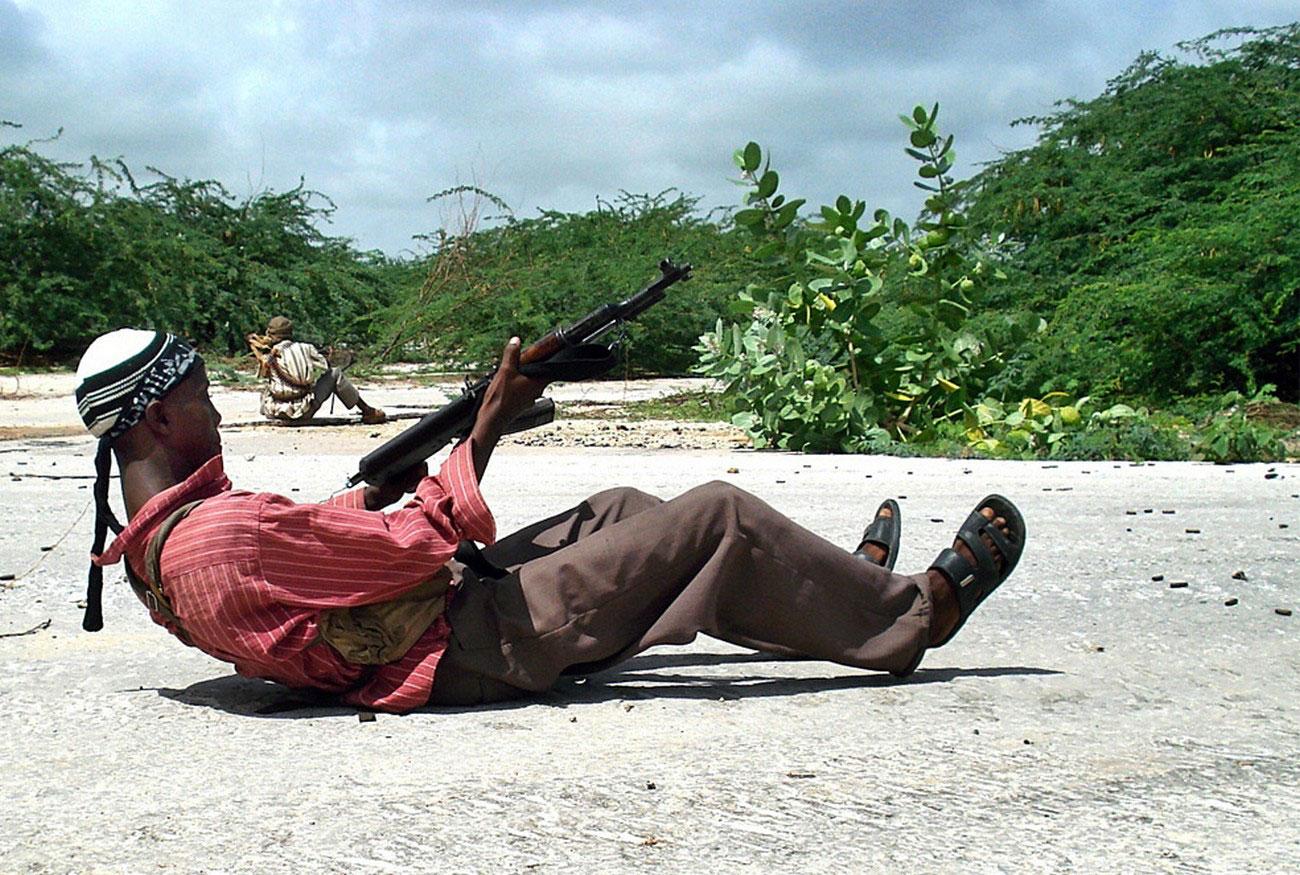 повстанец Сомали, фото