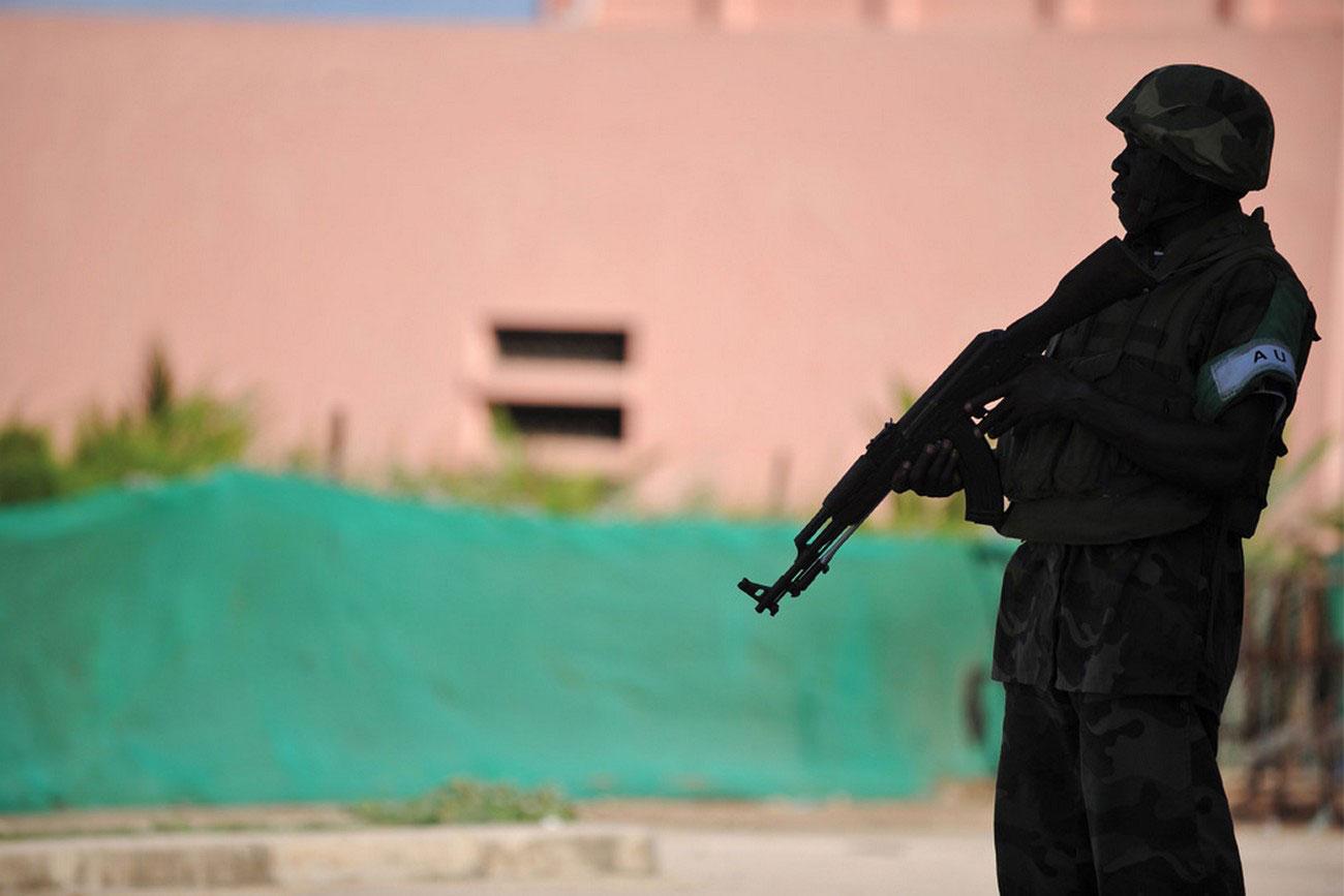 солдат на страже, фото
