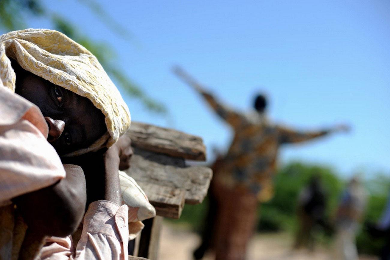 военная база угандийских миротворцев