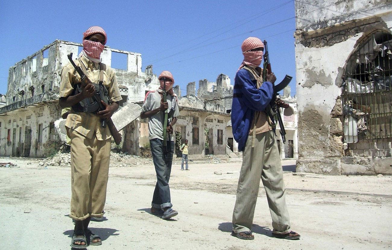 патрулирование северной части Могадишо