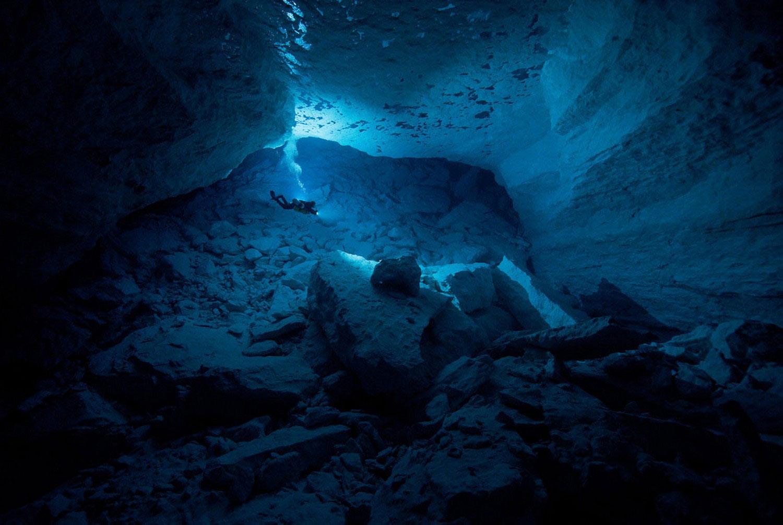 пещера в Австралии